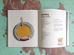 illustration til kogebog
