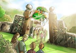 oh man productions-illustration-ARLA FoodFest