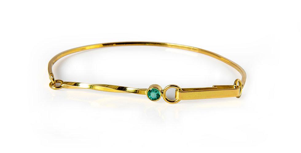 Effect Bracelet Smaragd
