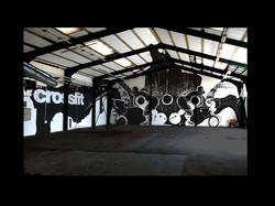 oh man productions-vægmaleri-crossfitcenter