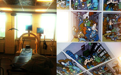oh man productions-vægmaleri-Hvidovre Hospital
