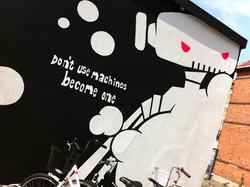 Væg maleri Crossfit Copenhagen