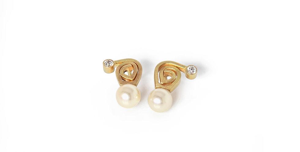 EDGE Spiral Earrings