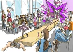 oh man productions-illustration-Bratz event