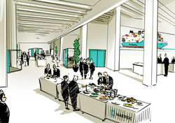 oh man productions-illustration-Maersk konference
