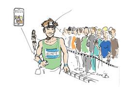 Oh man productions-Illustration-marathon
