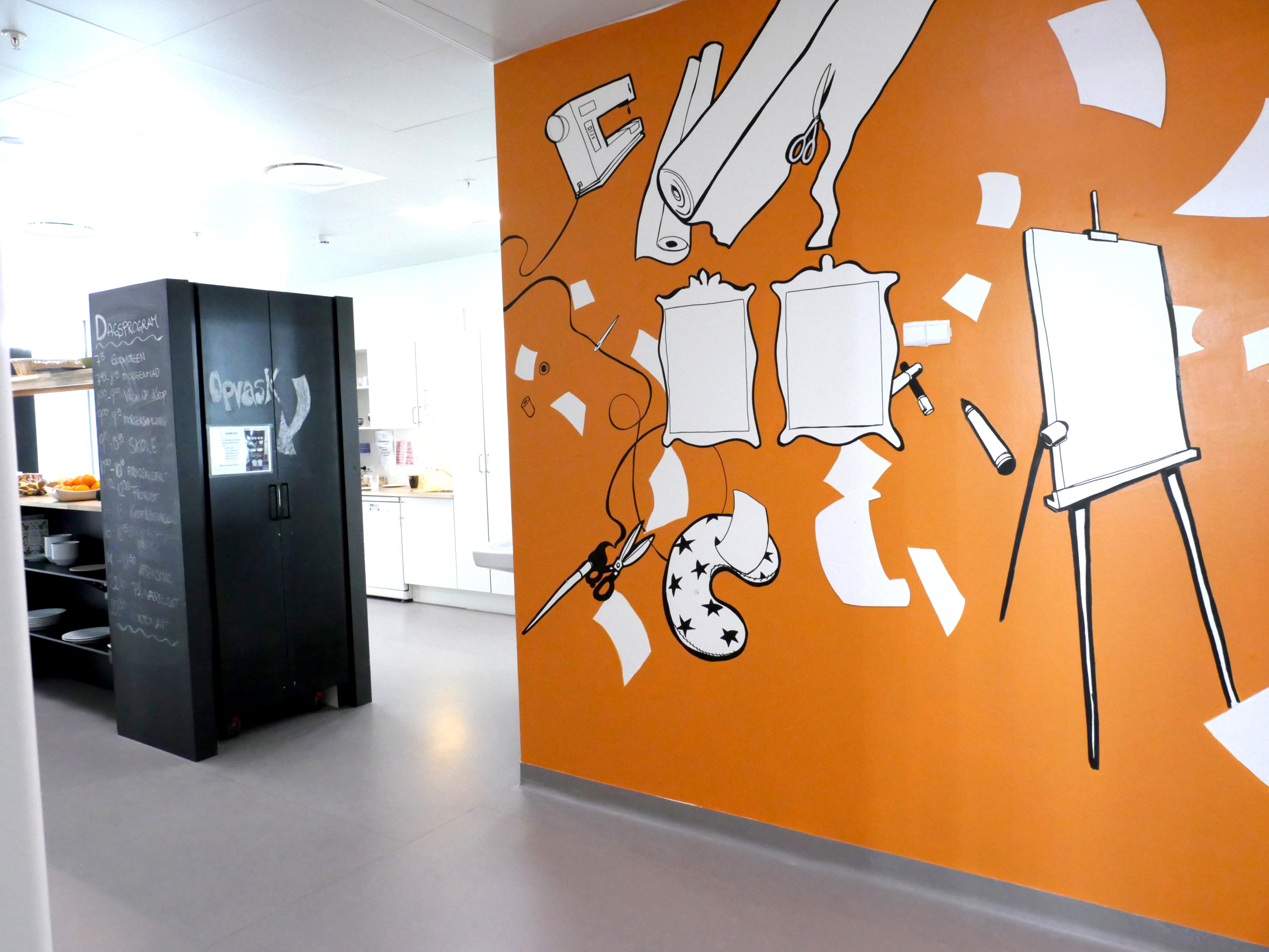 oh man productions-vægmaleri-Wayfinding