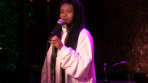Maya Imani performs at 54 Below. Song: Pick Up Off the Floor by MIKA