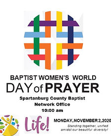 Baptist Women's World Day of Prayer