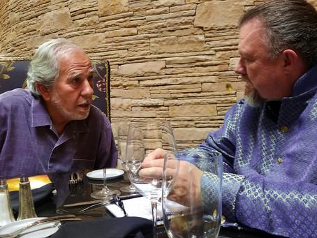 Dr. Lipton and Dwayne Meet in Taos