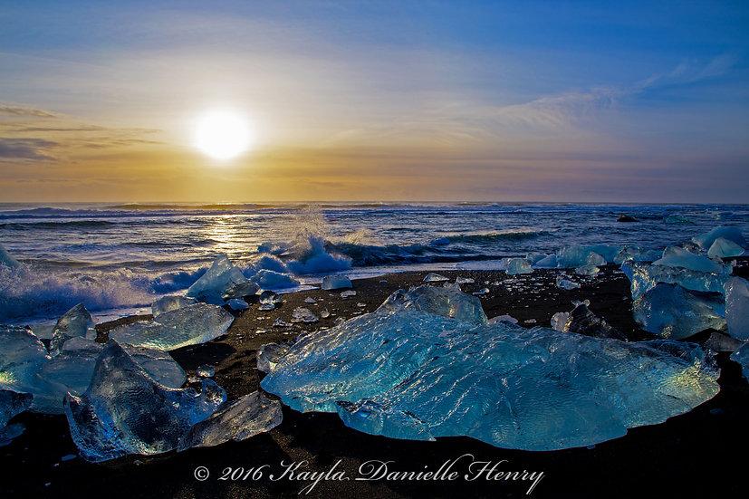 Glacier Beach Sunrise