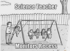 Recess is over....get back to class!