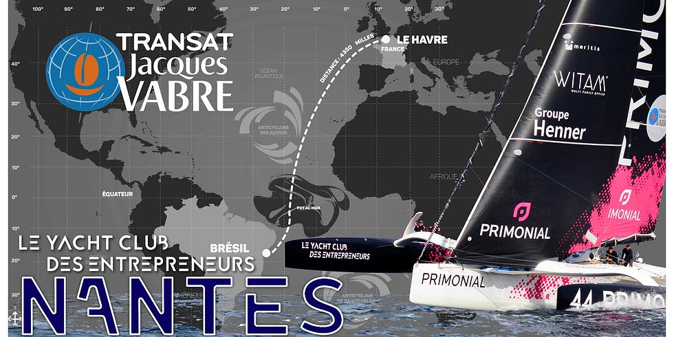 Nantes - Soirée suivi Transat Jacques Vabre
