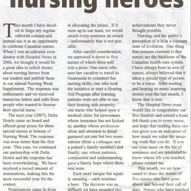 Nechama National Award Health Care News