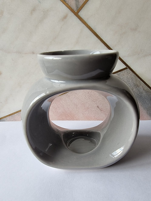 Oval Burner Grey