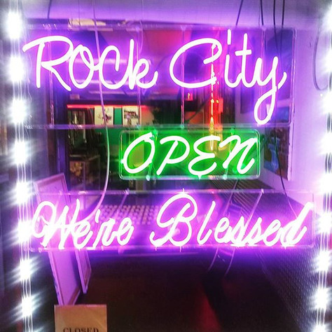 Are new neons We're Blessed #BELLEVILLE