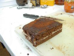 料理・チョコレートケーキ