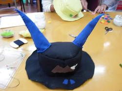 裁縫・フェルトの帽子