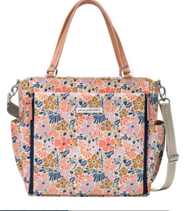 Pretty floral travel bag / baby changing bag.