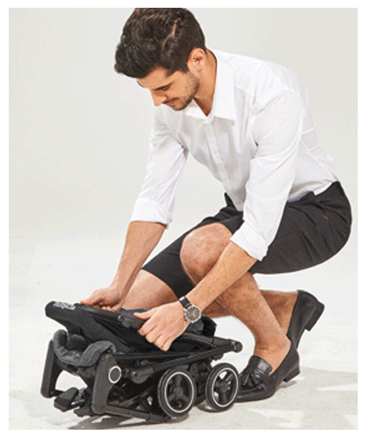 Roma Capsule super light, compact pushchair for travelling by air or car