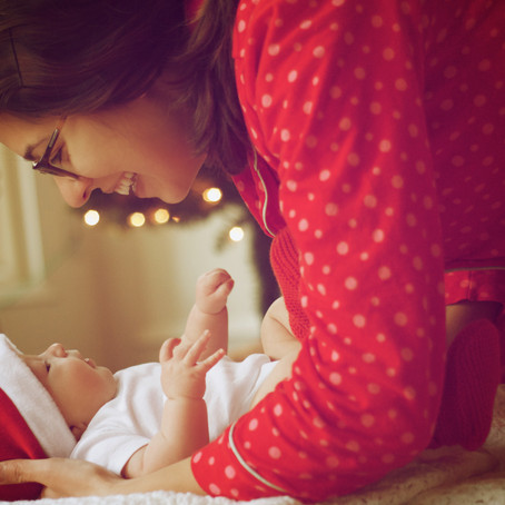Baby's first Christmas – keep your little one safe and happy while travelling over the holidays