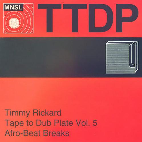 tape to dubplate volume 5 - afrobeat breaks