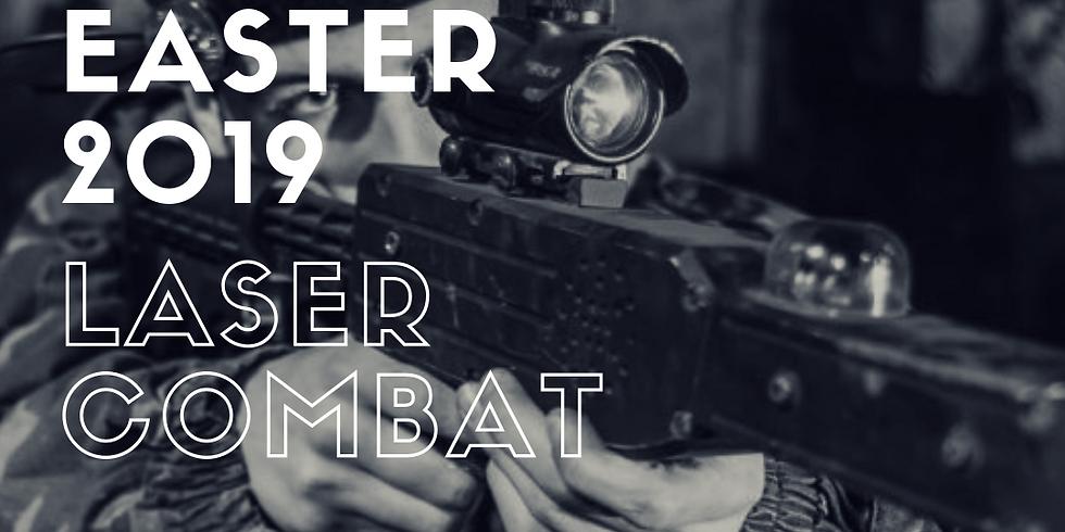 Easter Activities - Laser Combat