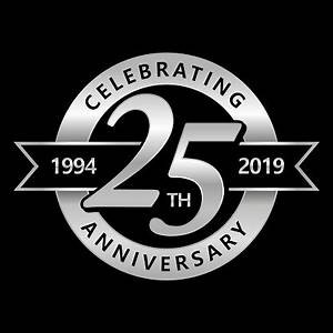 25th Year Anniverary in 2019