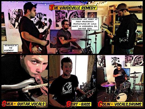 "Vaudeville Remedy ""Ladykiller EP"" Sticker and Postcard"