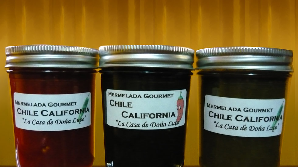 California Chili Pepper/Chile California Mermelada