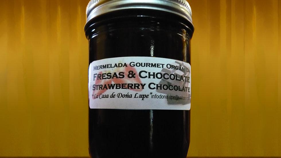 Freza y Chocolate / Strawberry Chocolate Marmalade