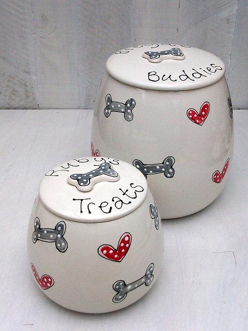 Personalised Treat Jar The Simple and Stylish Range