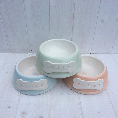 Personalised Handmade Pet Bowl