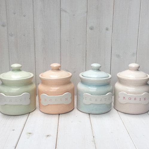 Hand made Treat Jar for Dog or Cat Treats