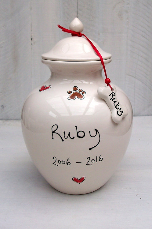 Large Memorial Urn for Dogs