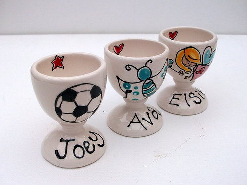 Personalised Egg Cups