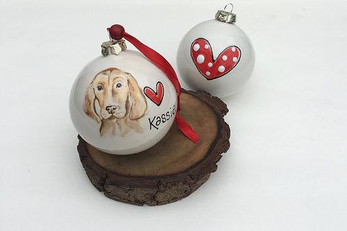 Ceramic Bauble with Portrait of Pet