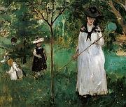 Joyeuses Pacques avec Berthe Morisot a l