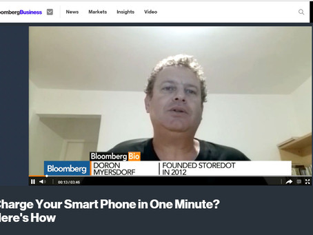 Charge Your Smart Phone in One Minute? Here's How