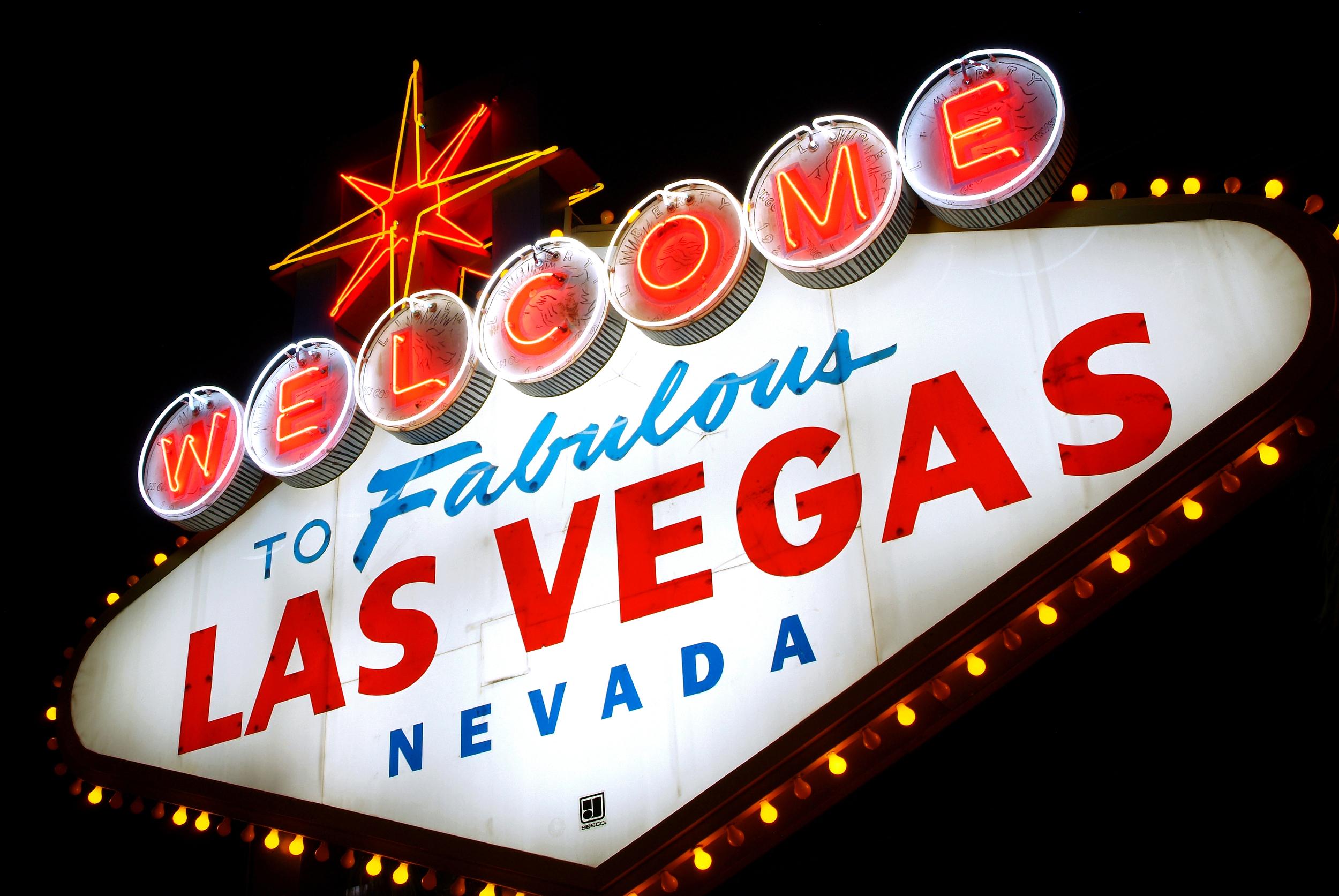 Welcome to Las Vegas, Nevada (USA)
