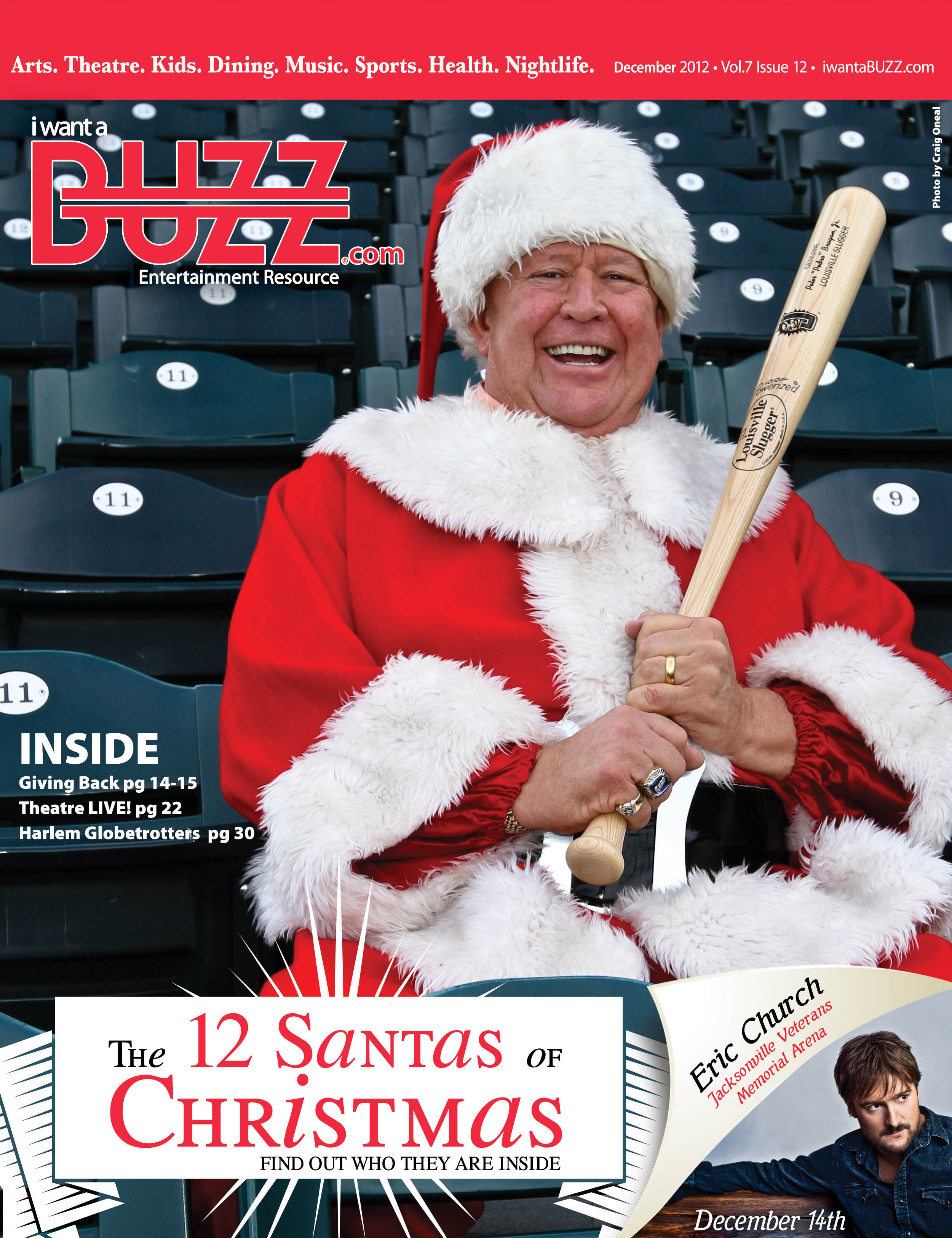 The Buzz Cover Christmas