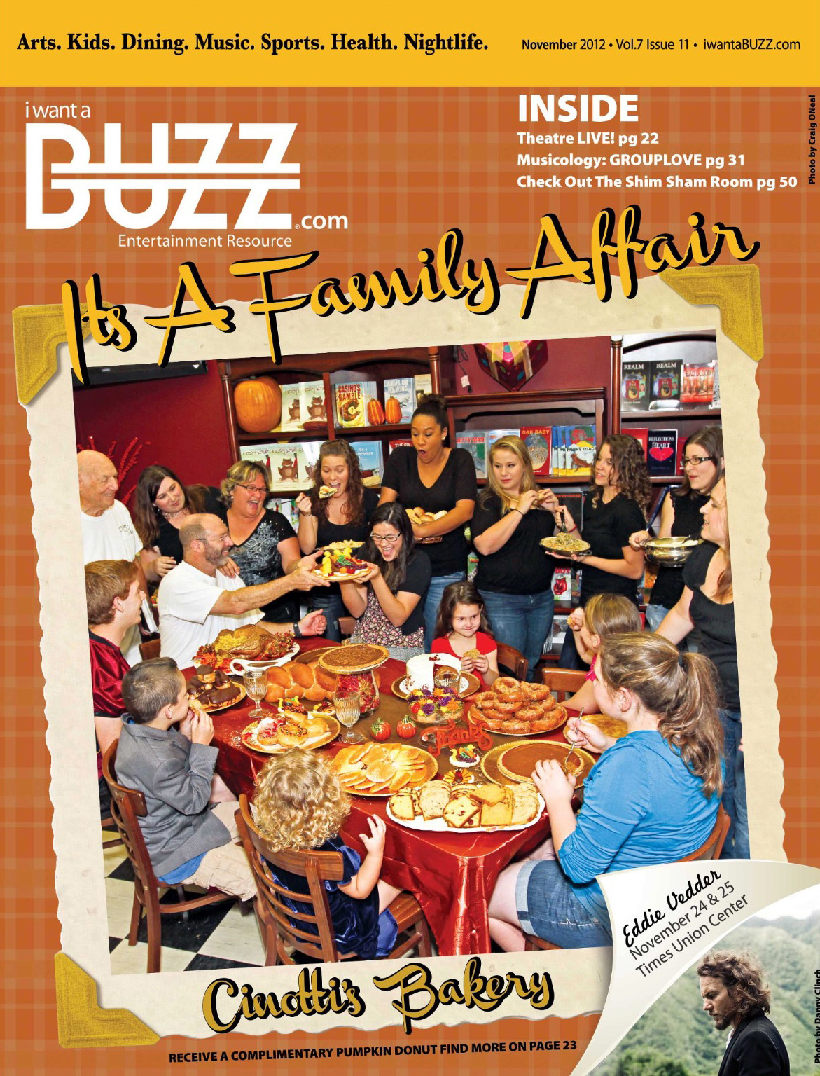 The Buzz Cover Thanksgiving
