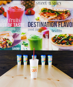 Tropical Smoothie Ad