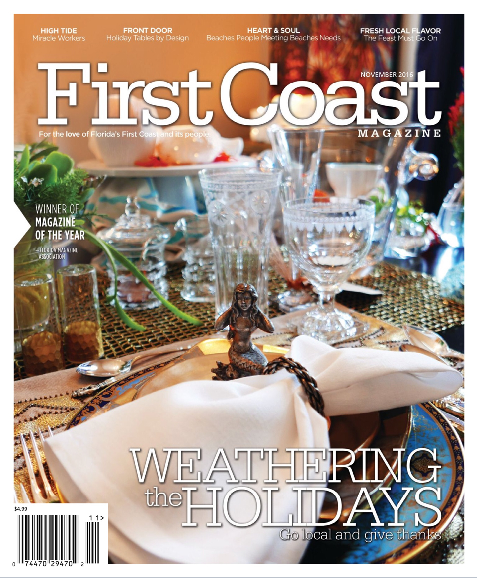 First Coast Magazine Cover