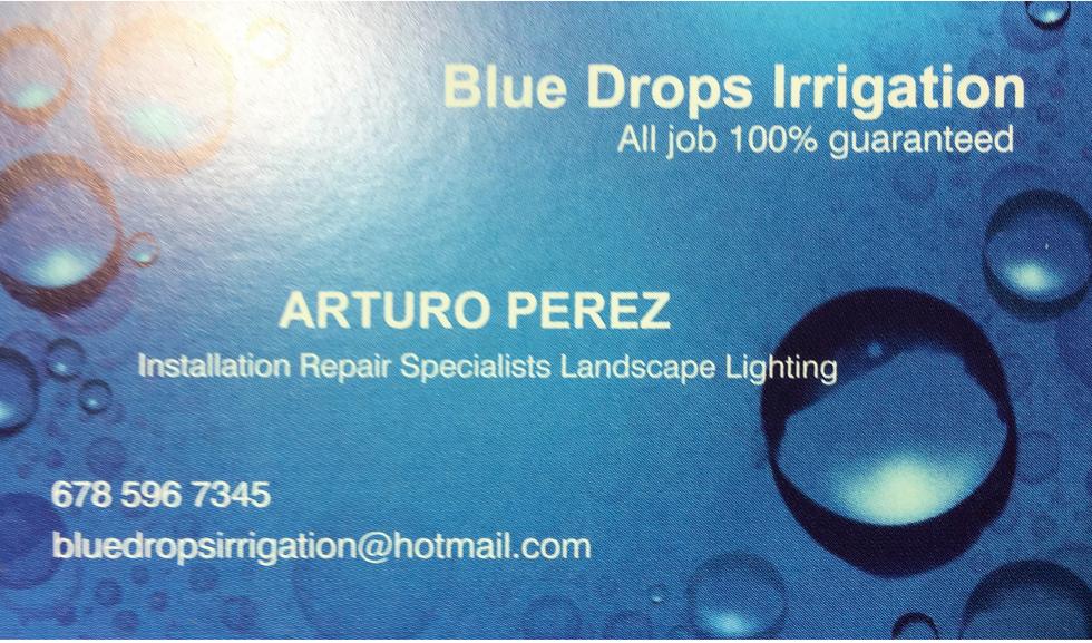Blue Drops Irrigation