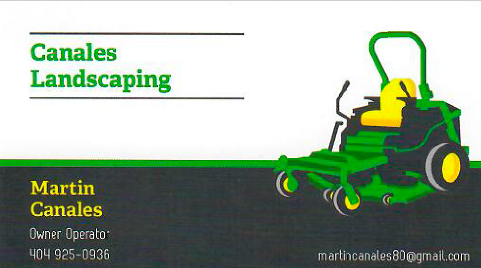 Canales Landscaping