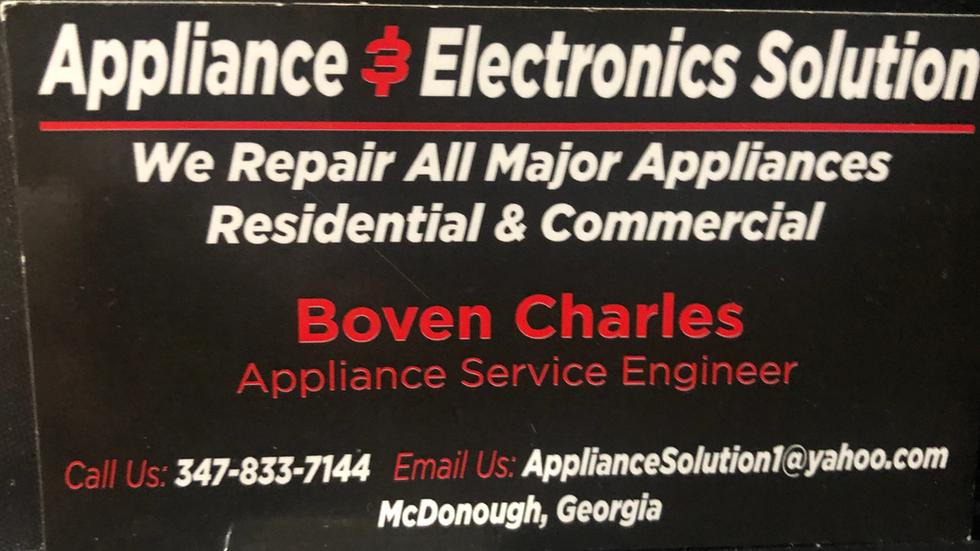 Applicance & Electronics
