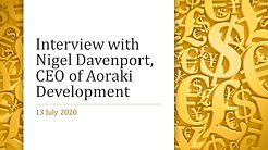 Interview with Nigel Davenport, CEO of A