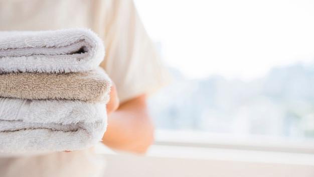 Roupa de cama e banho