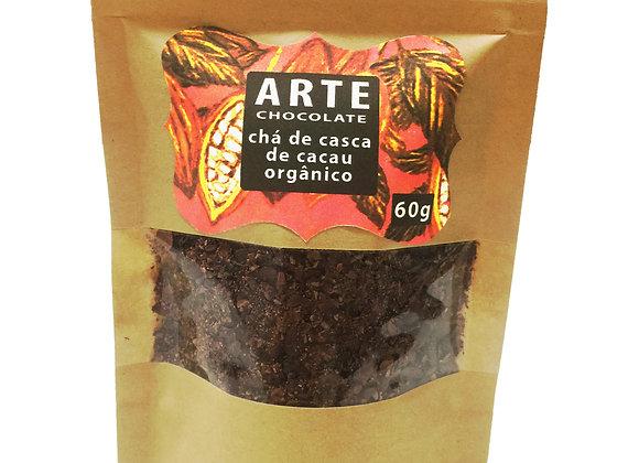 Chá de casca de cacau orgânico 50g